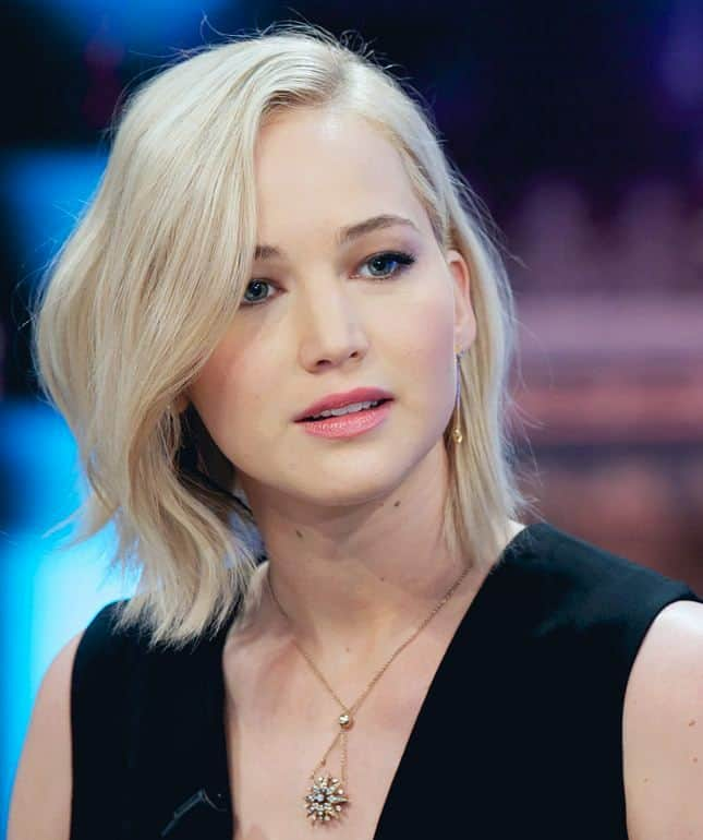 Jennifer Lawrence in 2016