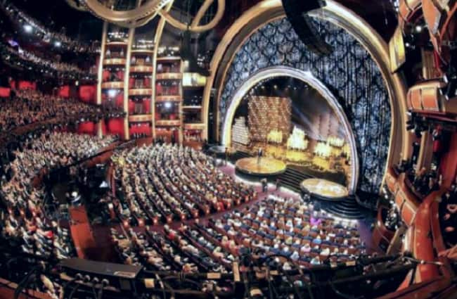 Place next to a star at the Oscars