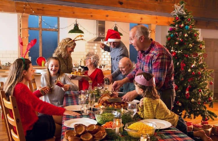 New year's eve with your family